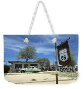 Route 66 Still Open Weekender Tote Bag