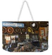 Route 66 Vintage Garage Weekender Tote Bag