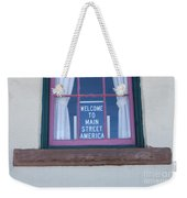Route 66 Welcome Sign Weekender Tote Bag
