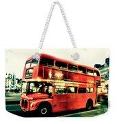 Routemaster Retro Pop Art  Weekender Tote Bag