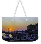 Rovinj Sunset Weekender Tote Bag