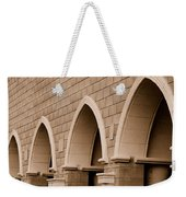 Row Of Arches Weekender Tote Bag