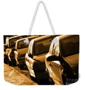 Row Of Cars Weekender Tote Bag