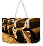 Row Of Cars Weekender Tote Bag