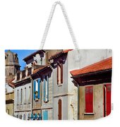 Row Of Houses In Arles Provence Weekender Tote Bag