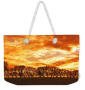 Row Of Trees Weekender Tote Bag