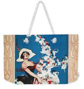 Row Row Row: Song Sheet Weekender Tote Bag
