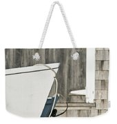 Rowboat And Boathouse Weekender Tote Bag