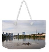 Rowing The Schuylkill Weekender Tote Bag