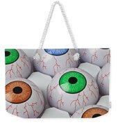 Rows Of Eyeballs Weekender Tote Bag