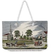 Roxbury, Massachusetts Weekender Tote Bag