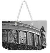 Royal Conservatory In Brussels - Black And White Weekender Tote Bag
