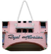 Royal Hawaiian Hotel Entrance Arch Weekender Tote Bag