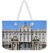 Royal Palace In Madrid Weekender Tote Bag
