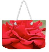 Royal Red Rose Weekender Tote Bag