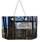 Rube Nelson Bridge 2 Weekender Tote Bag