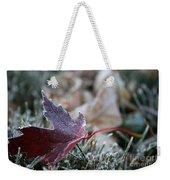 Ruby Frost Weekender Tote Bag