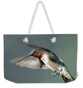 Ruby-throated Hummingbird - Hover Weekender Tote Bag