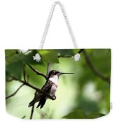 Ruby-throated Hummingbird - Shade Weekender Tote Bag