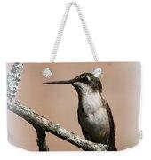Ruby-throated Hummingbird - Totally Innocent Weekender Tote Bag