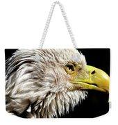 Ruffled Bald Eagle Weekender Tote Bag