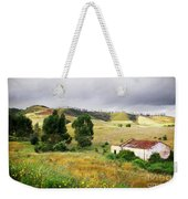 Ruin In Countryside Weekender Tote Bag