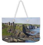 Ruins On Coastal Cliff Weekender Tote Bag