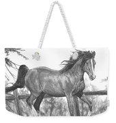 Running Horse Weekender Tote Bag