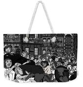 Running Of The Bulls 2 Weekender Tote Bag