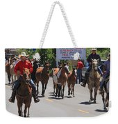 Running The Horses Weekender Tote Bag