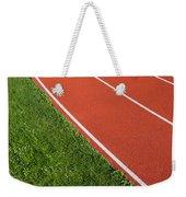 Running Track Weekender Tote Bag