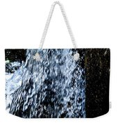 Running Water Weekender Tote Bag