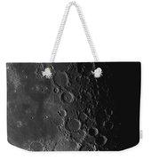 Rupes Recta Ridge And Craters Pitatus Weekender Tote Bag