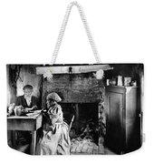 Rural Couple Eating, C1899 Weekender Tote Bag