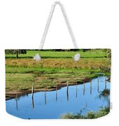Rural Landscape After Rain Weekender Tote Bag
