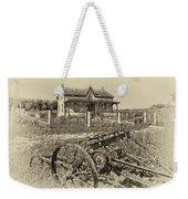 Rural Ontario Antique Weekender Tote Bag