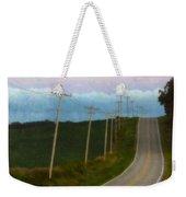 Rural Road Weekender Tote Bag