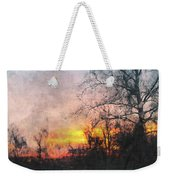 Rural Sunset  Art Weekender Tote Bag