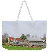 Rural Vermont Farm Scene Weekender Tote Bag