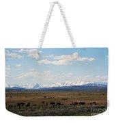 Rural Wyoming - On The Way To Jackson Hole Weekender Tote Bag