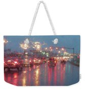 Rush Hour In The Rain Weekender Tote Bag