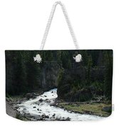 Rushing Thru The Mountains Weekender Tote Bag