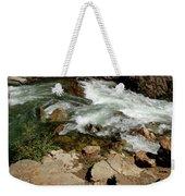 Rushing Water Glen Alpine Creek  Weekender Tote Bag