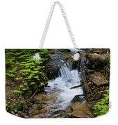 Rushing Water On Mt Spokane Weekender Tote Bag