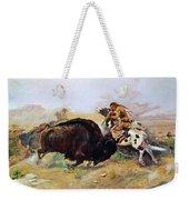 Russell: Buffalo Hunt Weekender Tote Bag