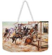 Russell Cowboy Art, 1909 Weekender Tote Bag