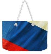 Russia Flag Weekender Tote Bag