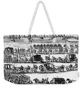 Russia: Procession, 1698 Weekender Tote Bag