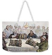 Russian Cartoon, 1854 Weekender Tote Bag