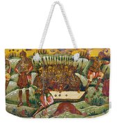 Russian Icon: Dice Players Weekender Tote Bag